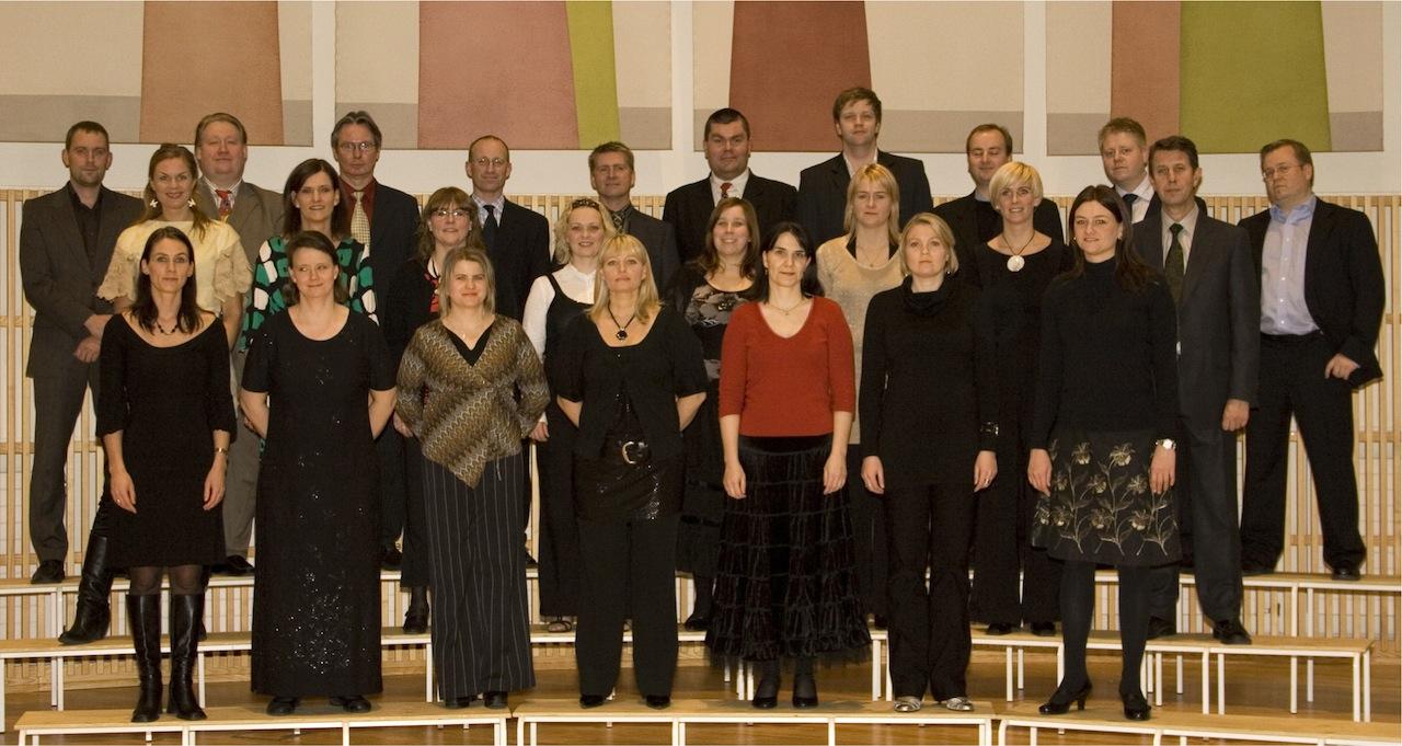 Kammerkór Hafnarfjarðar í desember 2007