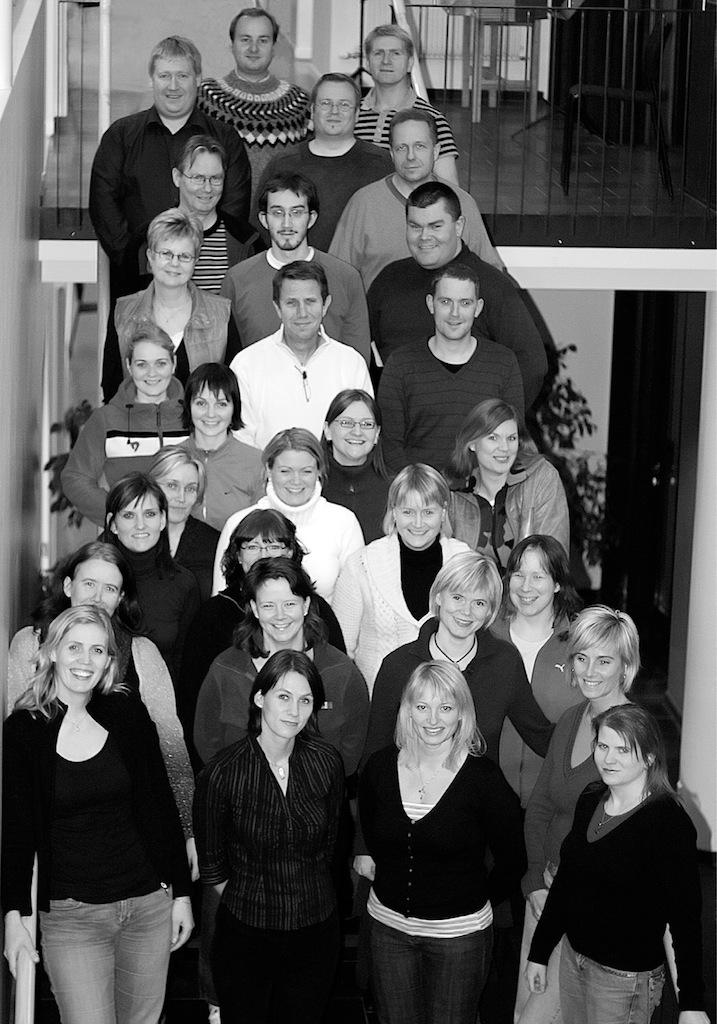 Kammerkór Hafnarfjarðar í nóvember 2006